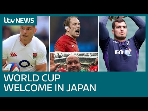 Home nations get warm Rugby World Cup reception in Japan | ITV News