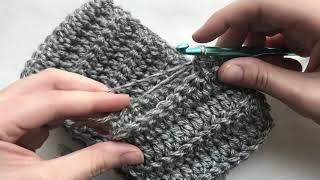 How To Crochet A Beanie - Crochet Beanie Pattern - Cable Beanie Pattern