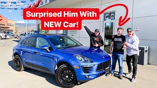 """SURPRISING OUR FRIEND """"EDITOR"""" WITH NEW CAR! *EMOTIONAL*"""