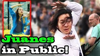 """JUANES - """"Pa Dentro"""" - SINGING IN PUBLIC!!"""