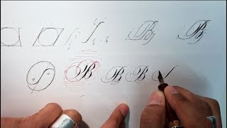 Copperplate Script Yin & Yang Approach Calligraphy Manual