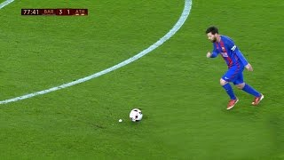 Lionel Messi vs Athletic Bilbao (Home) 16-17 HD 1080i