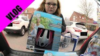 Einkaufen, Einkaufen Und Noch Mehr Einkaufen   Fahrradhelme Von ALDI | VLOG # 14