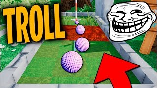 PARECE FÁCIL PERO NO! TROLL Golf it