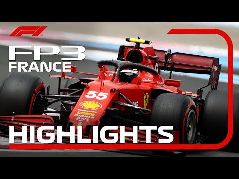 F1第7戦フランスGP(ル・キャステレ)のFP3ハイライト動画