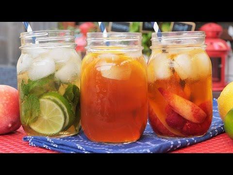 Ice tea με 3 γευστικούς τρόπους
