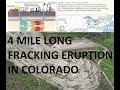 5/31/2014 -- 4 Mile Long eruption of Liquid Sand + ...