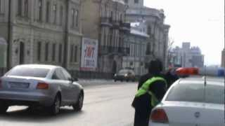 Ловушка для водителей. г. Казань ул Пушкина-Горького