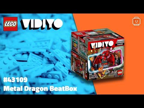 Vidéo LEGO VIDIYO 43109 : Metal Dragon BeatBox