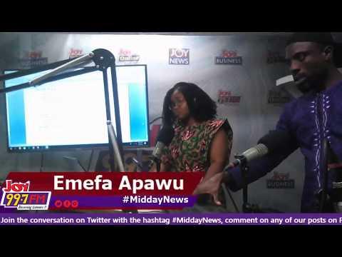 Midday News on Joy FM (5-10-18)