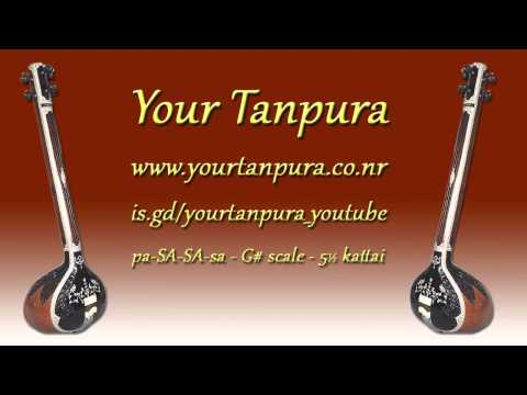 Your Tanpura - G# Scale - 5.5 Scale Mp3