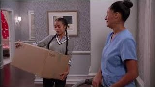 Blackish 4x10 'Im not trying to wake up my baby who i miss seeing'