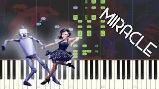 Gambar cover Caravan Palace - Miracle: Synthesia Piano Tutorial