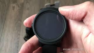 Mobvoi Ticwatch E Shadow UNBOXING Plus SETUP 4K!