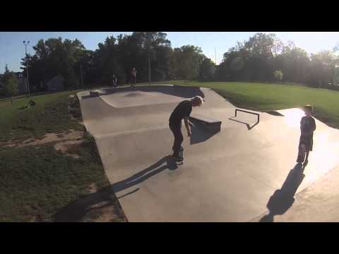 Eau Claire Skatepark Footy