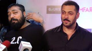 Anurag Kashyap Gets ANGRY On Salman Khan Question