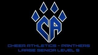 Cheer Athletics Panthers CheerMix Senior Large Level 5 2012-2013 Music W/ Lyrics