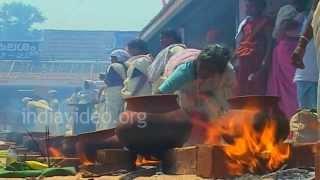 Attukal Pongala at Attukal Bhagavathy Temple