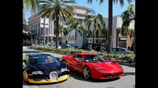 Cars at  Rodeo Drive, Beverly Hills 🇺🇸CALIFORNIA🇺🇸