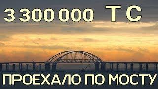 Крымский мост(декабрь 2018) Весь мост! Супер красивые кадры! Самое свежее!!!