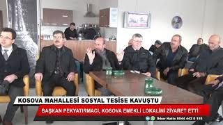 Ahmet Pekyatırmacı emeklilerle buluştu