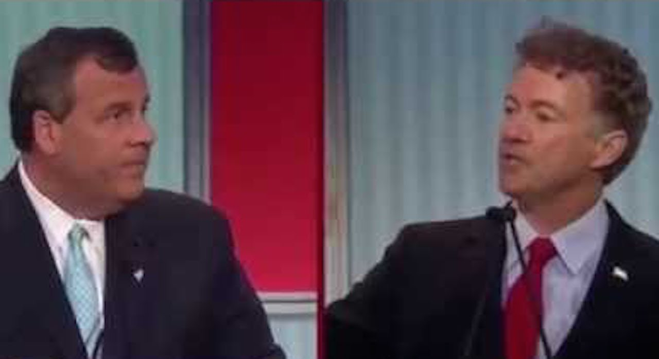 Rand Paul & Chris Christie Battle Over NSA Spying, ISIS thumbnail