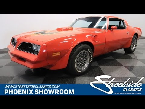 Video of '78 Firebird - PY0T