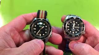Yesterday's Watch Review, Today!  Seiko Marinemaster SBDX001 Part 1