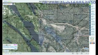 Каменногорск на карте РККА 1941 года и снимок со спутника сейчас