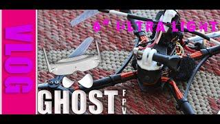 """Ghost FPV-Maiden new Build. 6"""" URUAV Ultralight/ FREESTYLE & LONGRANGE GoPro 6 Naked"""