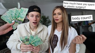 paying my girlfriend to tell me her deepest secrets..