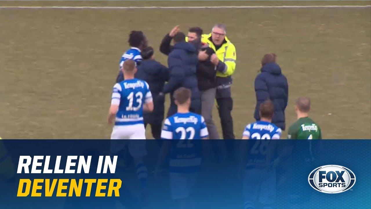 В Голландии фанаты избили свою команду за проигрыш 4:0