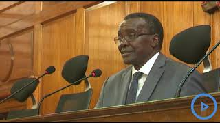 Chief Justice David Maraga says Council of Governor's petition on