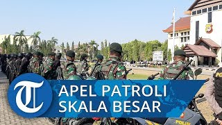 Jelang Pelantikan Presiden, Kapolda Sulsel Pimpin Apel Patroli Skala Besar