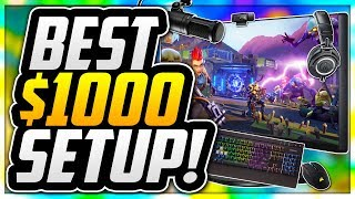 ULTIMATE $1000 BUDGET GAMING SETUP FOR NEW YOUTUBERS! BEST GAMING SETUP FOR ONLY $1000 IN 2018!