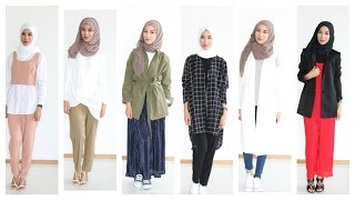 Hijab Lookbook Casual Chic