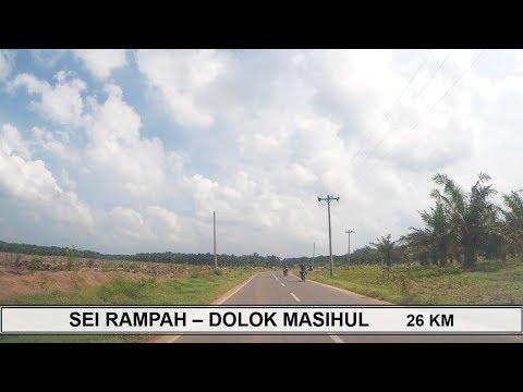 SEI RAMPAH - DOLOK MASIHUL Jalanan Kabupaten Serdang Bedagai