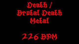 Death / Brutal Death Metal (226 BPM) Free Drum Track
