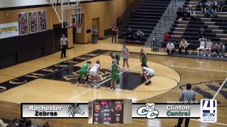 Rochester Varsity Girls Basketball vs Clinton Central