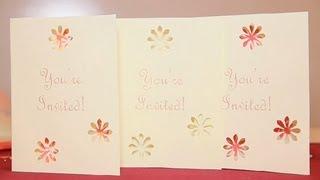 DIY: Bridal Shower Cards : Bridal Shower Cards