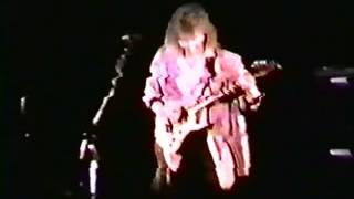 "Rik Emmett 1987 playing Triumph's ""Stranger In A Strange Land""."