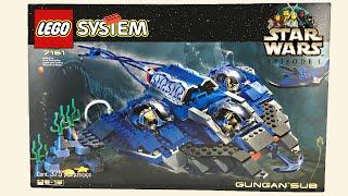 LEGO Star Wars 1999 Gungan Sub set review! 7161!