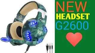 New HEADSET --KOTION EACH-G2600😍