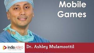 How mobile games help to develop vision in Lazy Eye? Dr. Ashley Mulamoottil explains