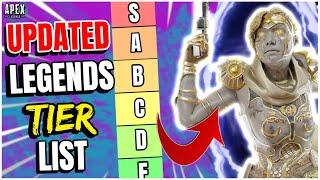 All Legends Ranked WORST to BEST! Updated Legend Tier List - Apex Legends Season 5