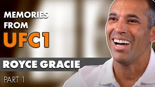 Royce Gracie  20th Anniversary Memories From UFC 1 Part 1/2