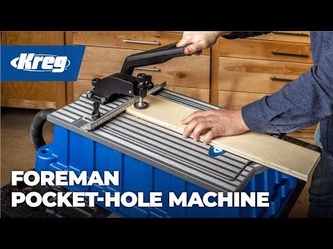 Kreg Foreman Pocket-Hole Machine