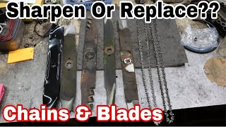 Sharpen or Replace?? How To Tell (Chains & Blades)