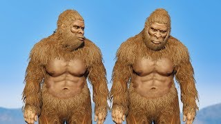 BIGFOOT'S BROTHER! *WHO'S MANS IS THIS?!* | GTA 5 RP / Roleplay