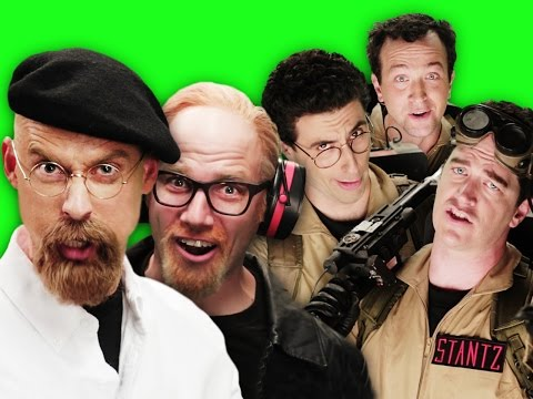 Ghostbusters vs Mythbusters. Behind the Scenes of Epic Rap Battles of History